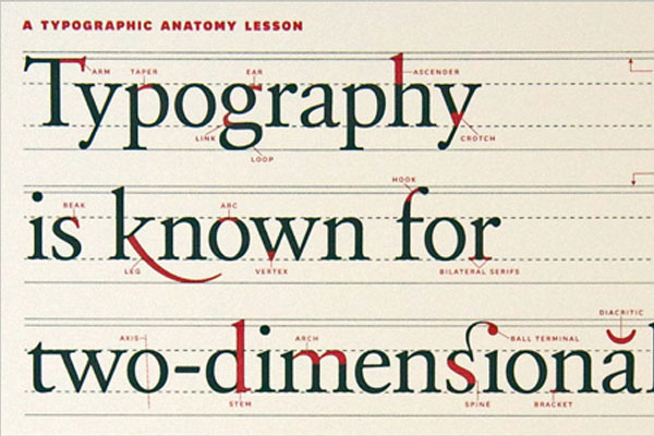 Significant Typography Technique